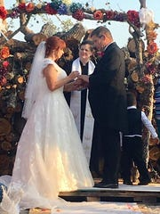 A couple got married at Rockport Relief Camp. The affair was catered, of course, by Sam McCrary.