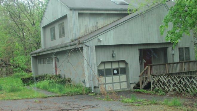 A zombie property at 70 N Middletown Rd., in Nanuet