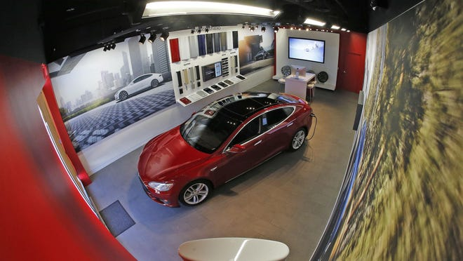 The new Tesla gallery will open in Fort Worth Friday, Feb. 12, 2016. Test drives will be available by appointment only. Customers custom-order their vehicle online, with exactly the features they want.