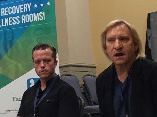 Jason Isbell and Joe Walsh spoke of the toll addiction