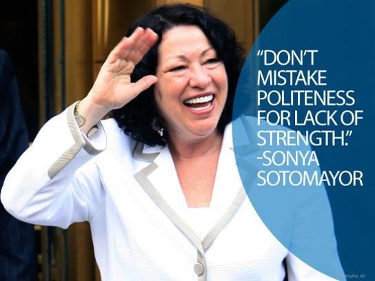 Sonya Sotomayor