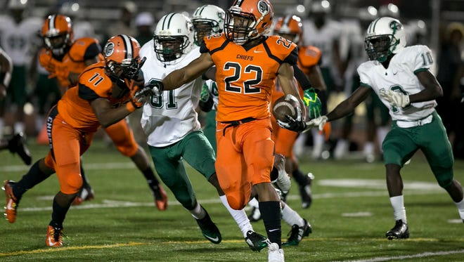 Miami Central beat Carol City 38-6 two weeks ago in a game that was end with 3 minutes to play due to gun fire in the parking lot of Traz Powell Stadium.