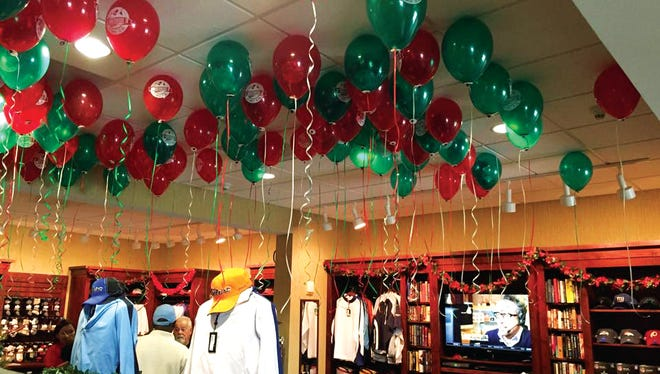 Underwood Golf Complex will have its Holiday Balloon Sale on Dec. 10.