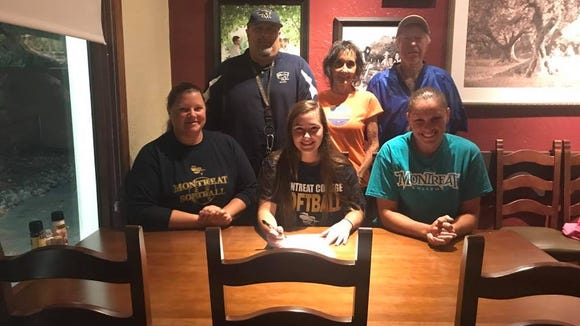 Reynolds junior Ariel Frizzell will play softball at Montreat College.