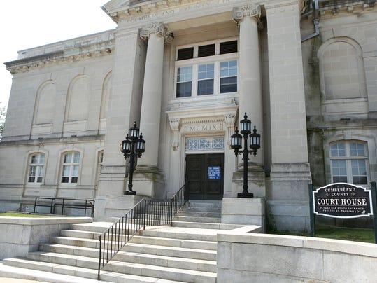 Cumberland County Court carousel