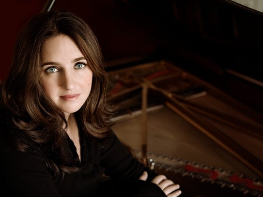 Pianist Simone Dinnerstein performs Friday at the University