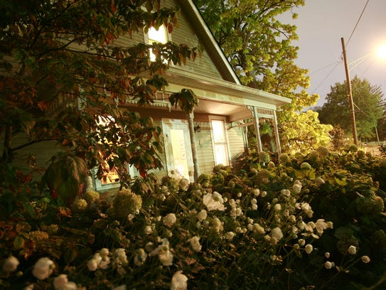 The Dr. H.H. Holmes cottage is part of the Irvington