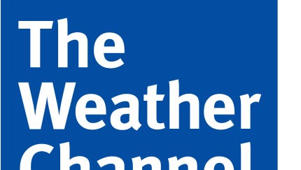 The Weather Channel logo.
