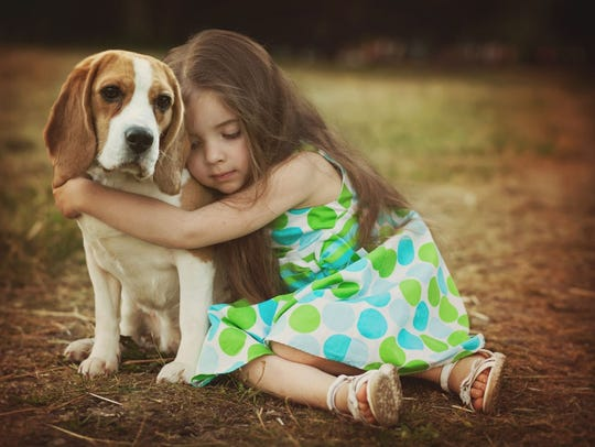 For children, the loss of a pet may have the same impact