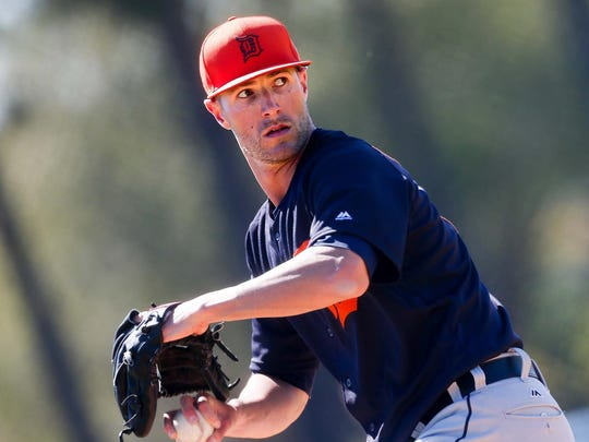 """""""I feel like my fastball is coming out better and my slider is coming out a little better than it was at the beginning of last season,"""" said Shane Greene, who had surgery in the off-season and excelled after his return this spring."""