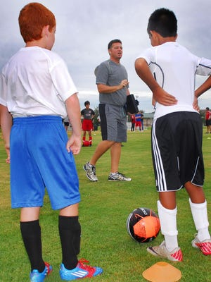 Scott Armstrong is director of coaching at Space Coast United youth soccer program.