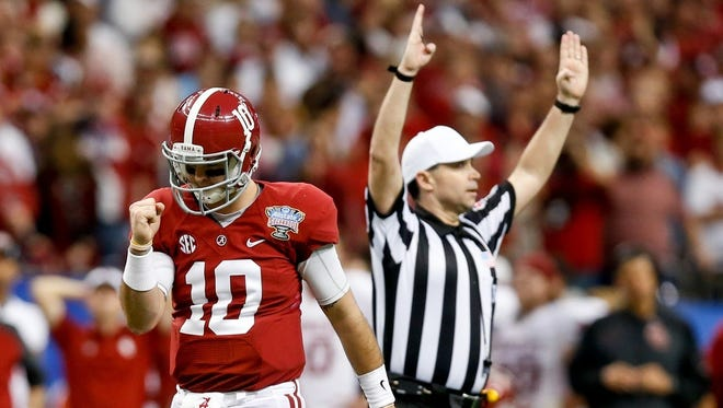 The Bengals drafted Alabama quarterback AJ McCarron in Round 5 of the NFL draft.