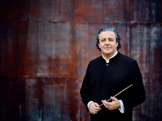 Juanjo Mena, principal conductor designate, will lead