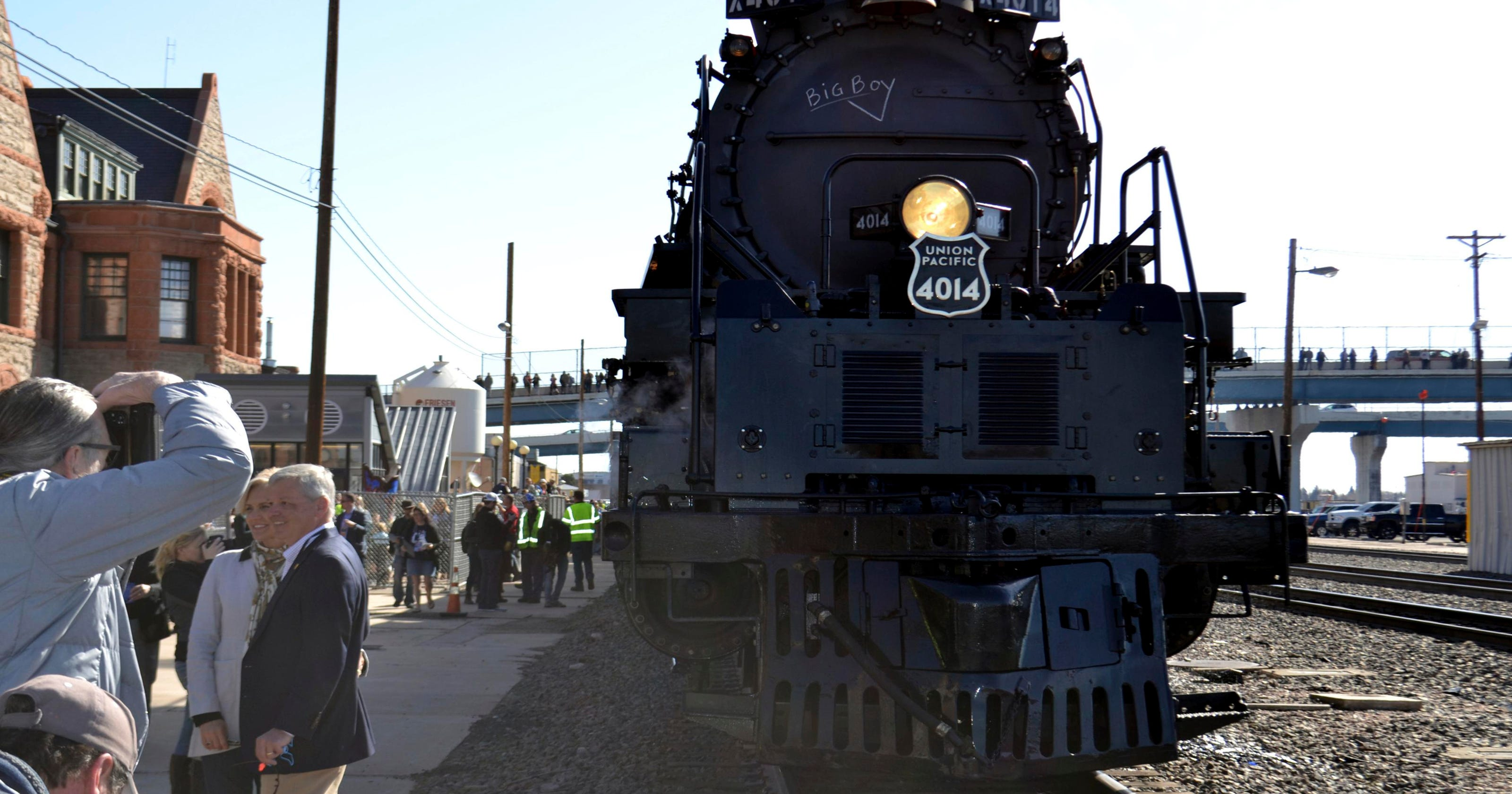 Union Pacific 'Big Boy' Locomotive Refurbished