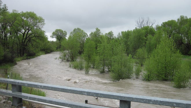 When the Teton River flooded in 2011 it moved river bottom gravel and sediment.