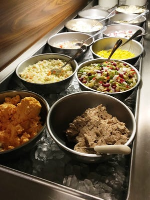 The Roepke's Village Inn supper club is known for its salad bar.