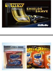 Gillette has added a new lubrication strip to its razor cartridges and is using less bulky hard tags for retailers concerned about theft.