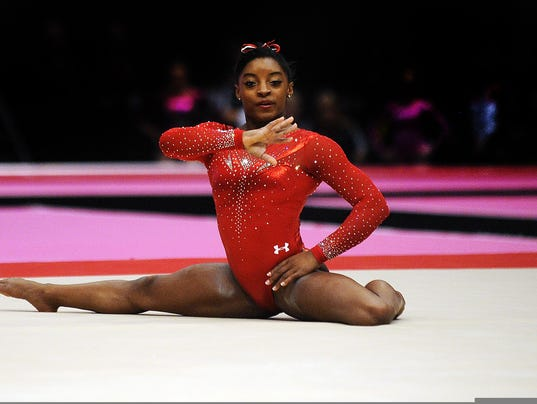 Simone Biles Nude Photos 43