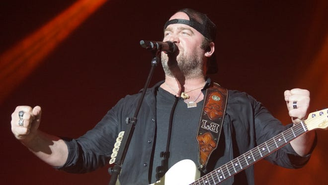 Lee Brice performs late Friday night at Runaway Country in Melbourne.