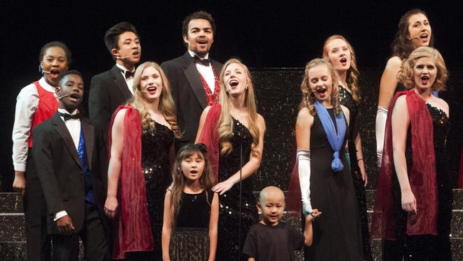 During the annual Showtime performance by the Pensacola Children's Chorus, the Ambassador Chorus will present a new song dedicated to the Rally Foundation for Childhood Cancer Research. Joining the chorus onstage for the song will be Rally Kids – and siblings – Madison Tan, 7, and Logan Tan, 4.