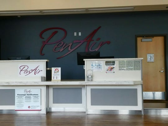 The PenAir desk will be removed on Monday after the last flight leaves from the Redding Municipal Airport. The airlines announced it would stop its Pacific Northwest routes last week.