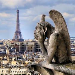 Beautiful Paris in April