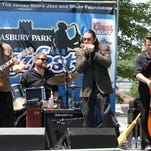 T.J. Wheeler, left, pictured in 2008. The New Hampshire-based blues educator and performer opens the Point Pleasant Boro Jazz and Blues Festival at noon on Saturday.