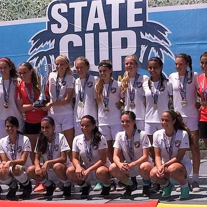 U15 Girls State Cup Champs