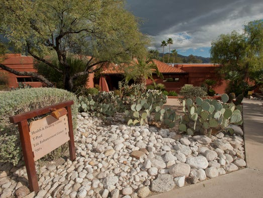 """4. Get fit: Canyon Ranch, Tucson. """"Stay fit and healthy"""""""