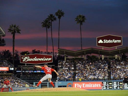 April 21: Stephen Strasburg, 10 at Dodgers