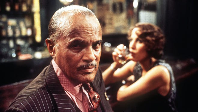 """Actor Harry Belafonte is shown during filming of famed director Robert Altman's """"Kansas City,"""" in Kansas City, Mo., in this undated 1996 photo."""