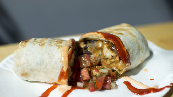A 'Local Burrito' from Local Links Market Cafe in Haddon Heights.
