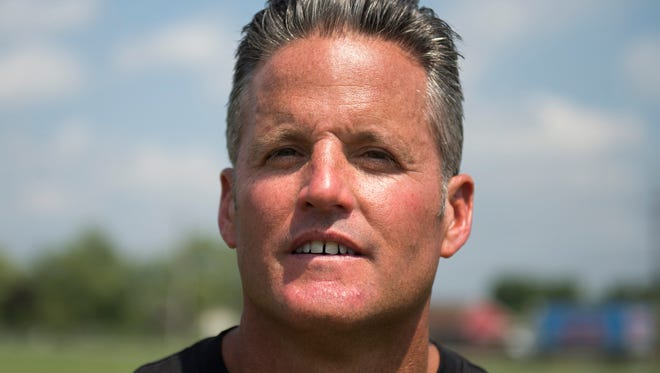 Tim McAneney stepped down as Lenape football coach on Tuesday.
