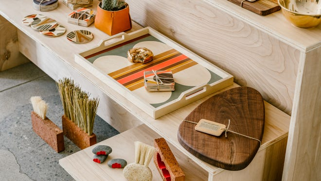 BKB Handcrafted is the second storefront for ceramicist Brian Bosworth and his wife, Jamie – where they bring Joshua Tree area artists to Palm Springs.