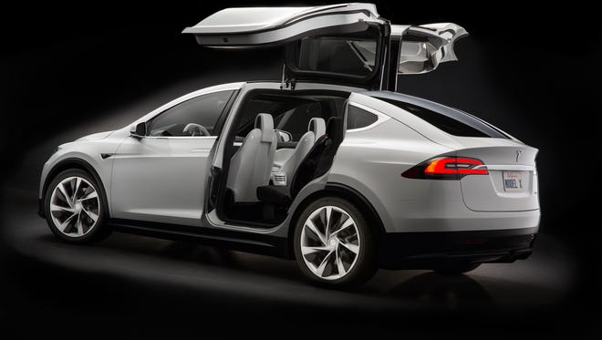 Tesla will replace the third row seat backs in its Model X crossover to fix a manufacturing error