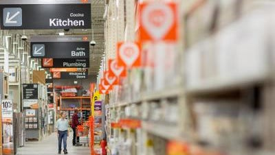 Home Depot is hiring 180 people at its three El Paso stores for the retail chain's busy spring season.