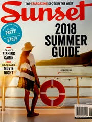 This month's cover of Sunset magazine.