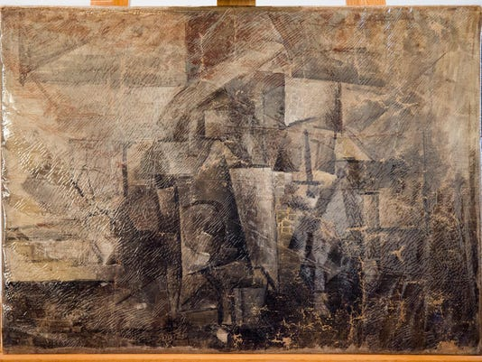 Picasso Painting Return