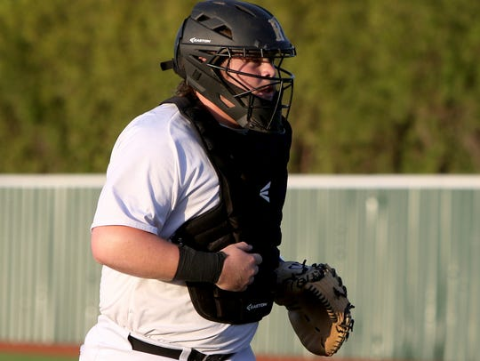 Rider's Hunter Klasse jogs back to home plate in the