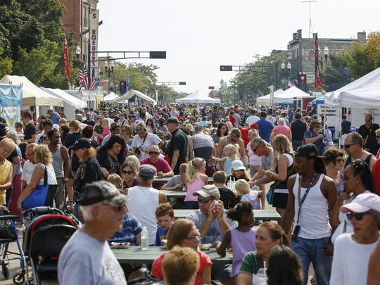 File - Ethnic Fest in Two Rivers in 2017.