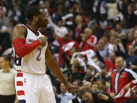 USP NBA: PLAYOFFS-ATLANTA HAWKS AT WASHINGTON WIZA S BKN WAS ATL USA DC