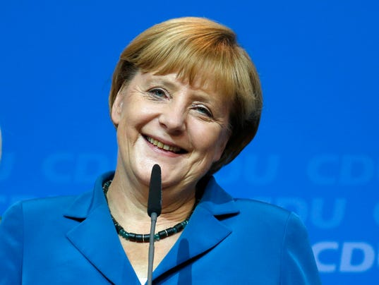 angela merkel re-election