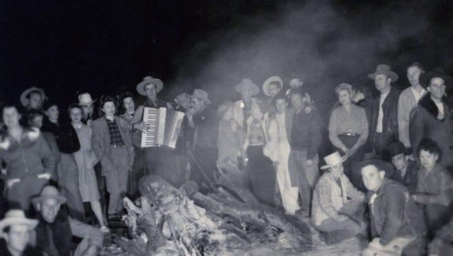 Los Compadres Riding Club c. 1940.