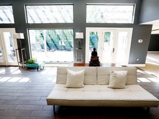 Large window offer natural light throughout the four