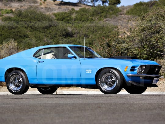 Considered the most muscular of Ford's muscle Mustangs,