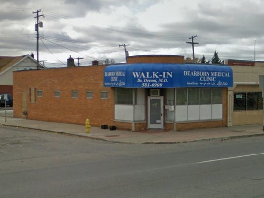 Police have raided a medical clinic in Dearborn, officials said.