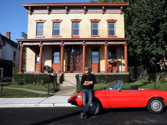 Nelson Diaz was photographed in 2012 in front of the