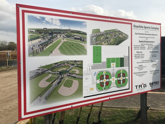 An $8.5 million sports field expansion started Friday