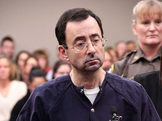 Larry Nassar will be processed through Milan, a low-security