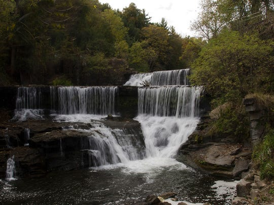Seneca Mills Falls, one of the suggested sites on the Go Finger Lakes website.